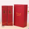 红酒纸盒包装双支礼盒葡萄酒包装盒高档礼品纸袋单支装酒盒包邮