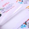 彩色不干胶标签定制流水号二维码透明PVC商标贴纸