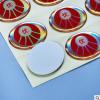 厂家直销 水晶滴胶标签 滴胶铭牌标签定制 pvc滴塑滴胶贴纸