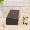 新款眼镜盒定制厂家直销精致品牌全套包装礼品盒黑色天地盖墨镜盒