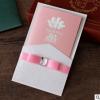 厂家直销粉红色结婚礼请柬 韩式订婚宴会邀请函创意个性请帖定制