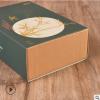 茶叶抽屉盒定做logo 保健品药品包装盒 折叠白卡纸食品