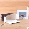 折叠食品包装盒定做 创意彩印礼品盒印刷logo 通用花茶包装