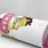 厂家定制 姜茶茶叶圆筒纸罐包装 玫瑰花茶牛皮纸筒罐包装