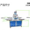 大莞机械专业生产四工位烫画机 下滑式气动压烫机40*60厂家直销