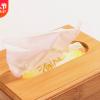 供应简约复古木质餐巾纸盒定制餐厅办公家用卫生间松木带盖抽纸盒