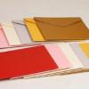 批发珠光纸西式信封定制彩色明信片邀请函定做牛皮纸折叠复古信封