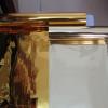 透明哑克力钻双面烫金纸 PVC胶片双面金银烫金纸 反面银反面金