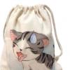 厂家定做环保棉帆布袋 抽拉绳束口手提袋礼品收纳袋可印刷logo