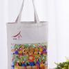 批发环保全棉帆布手提袋子广告购物棉布袋定做学生文艺帆布包定制