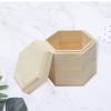 厂家直销六棱茶叶木盒 实木茶叶包装盒 木制礼品包装盒 收纳定做