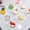 定制加厚白卡白色金色慕斯托蛋糕垫片法式甜品慕斯印字蛋糕底托