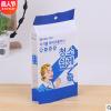 工厂直销韩文零食干果食品袋 通用塑料包装袋 休闲自立自封袋定制