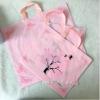 厂家定做PE塑料手提袋服装包装袋塑料薄膜袋手提衣服包装袋批发