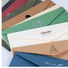 烫金信封定做1000个起 印刷邀请函复古信封定制logo 5号火漆信封