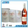 高挡黄底雅纹红酒标签不干胶印刷 精油瓶标签 各类酒标贴纸定做