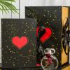 礼盒生日礼物盒子精美 ins风韩版简约口红包装盒翻盖礼品盒空盒