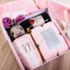 欧式礼品盒ins大号精美生日伴手礼盒包装盒空盒大理石纹喜糖盒子