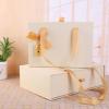 私人定制回礼盒 喜庆生日礼物盒长方形复古牛皮抽屉式包装礼
