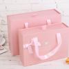 高档礼品盒子包装礼物纸盒回礼袋定制糖果粉色喜糖婚庆巧克力礼盒