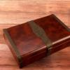 厂家现货高档复古私人订制皮带包装精美木盒腰带扣头礼品盒组合装