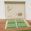 高档茶叶通用包装礼盒 自然造物二合一半斤装 茶叶罐空盒包装定制