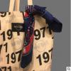 出口ins风复古美式帆布单肩hardrock托特包学生装书印花手提包袋