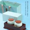 源昌隆双罐茶叶礼盒 散茶500g包装 下盖竹盒空盒定制厂家批发