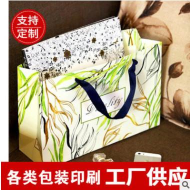 纸袋定做牛皮纸手提袋环保创意服装购物袋批发方底通用礼品手提袋