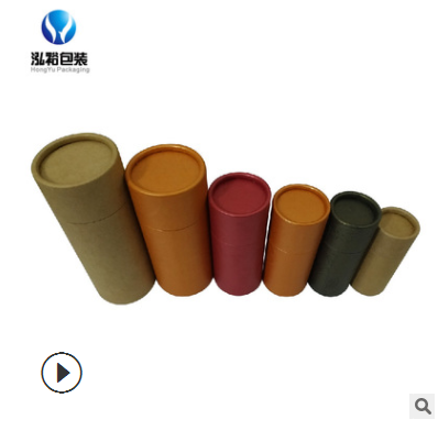 东莞纸筒包装厂家 供应纸罐卷边圆筒盒 各类茶叶罐对联纸盒定做