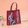 厂家生产 无纺布袋定做 服装广告购物覆膜手提袋 平口折叠包装袋