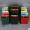 牛皮纸手提袋子外卖打包服装购物纸袋定做创意礼品包装袋定制LOGO