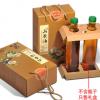 野生山茶油茶籽油500ML礼品盒 一斤2斤两瓶装茶油包装高档手提袋