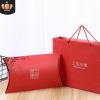 上海故事白卡手提袋围巾包装盒衣服包装袋元宝盒高档礼盒包装定制
