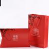 厂家直销精品丝绸围巾丝巾包装礼盒折叠手提袋套装定制LOGO批发