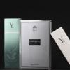 广州厂家定制面膜包装盒 银卡磨砂十片装线下批发礼品面膜纸彩盒