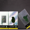 定制电商创意护肤品包装盒 镭射银镂空开窗翻盖书型套盒彩纸盒