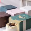 4寸蛋糕盒 加厚手提开窗四寸慕斯蛋糕盒子 生日蛋糕包装盒