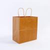 牛皮纸袋现货批发可定制 牛皮纸外卖袋手提纸袋牛皮纸包装袋