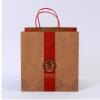 加厚牛皮纸袋酒店甜点外卖打包袋定制 手提纸袋外卖打包牛皮纸袋
