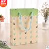卡通小清新动物兔子白牛皮纸质手提袋礼品袋送男女朋友 手提纸袋