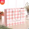 梦幻格子礼品袋 创意时尚化妆品首饰包装纸袋高端服饰手提袋纸袋