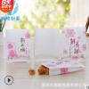 鲜花饼纸袋 白色淋膜防油袋子 月饼烧饼一次性食品包装纸袋可定做
