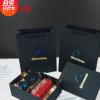 网红创意DIY黑色复古长方形天地盖礼品盒高档口红盒伴手礼盒现货