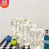 现货韩版创意小清新牛皮纸袋环保购物袋新款礼品袋手提袋批发定制
