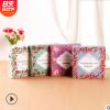 厂家直销折叠彩色面膜盒白卡纸哑胶面膜包装盒中高端化妆品包装盒