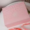 粉色梦幻城堡伴手礼结婚情人节七夕杯子围巾包装盒生日礼品盒定制