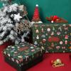 2020围巾保温杯圣诞节礼品盒 糖果平安夜苹果礼物包装盒现货定制