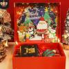 新款圣诞节礼盒 平安夜苹果围巾保温杯包装盒 翻盖立体精美礼品盒