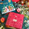 新款圣诞节礼物盒生日礼盒平安夜苹果包装盒杯子围巾圣诞礼品盒